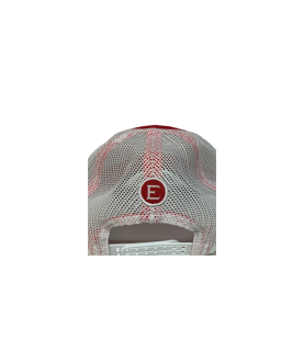 ELEY Red Snapback cap back view