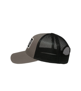 ELEY black gray cap side view