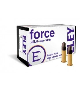 ELEY force .22lr 42gr round nose 50 pack