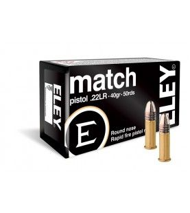 ELEY match pistol .22lr box of 50