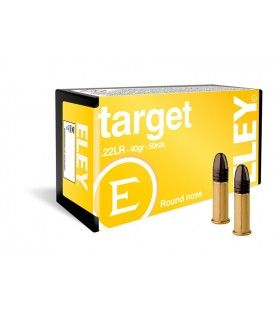 ELEY target .22lr box of 50 rimfire cartridges