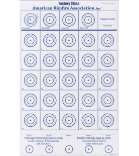 ARA Double Sided Targets - PACK OF 100  - 2