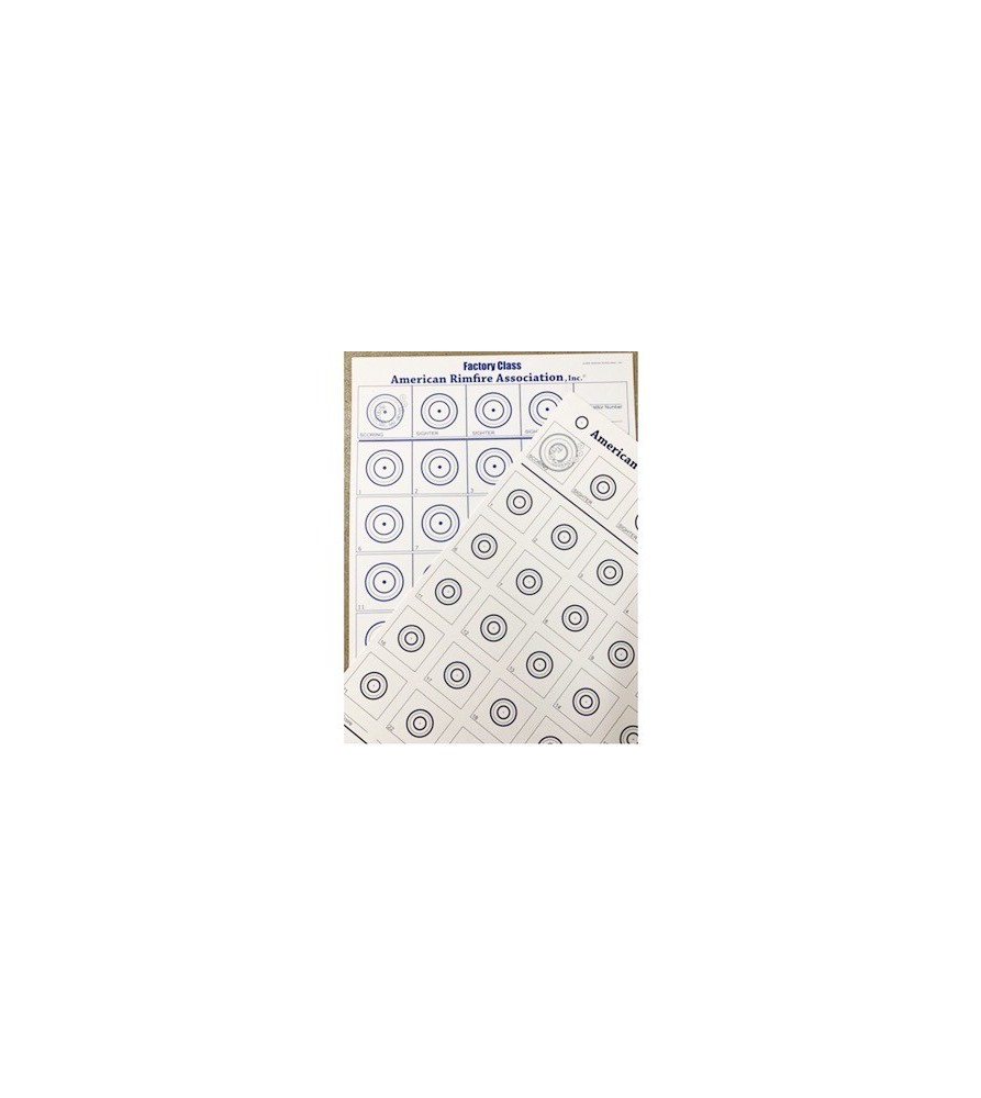 ARA Double Sided Targets - PACK OF 100  - 4