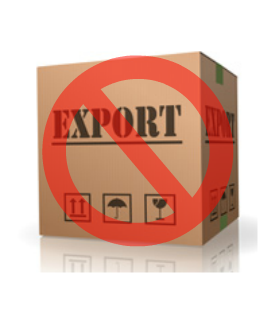 No export of ELEY tenex