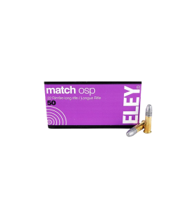 ELEY match OSP .22lr 40gr rimfire cartridges