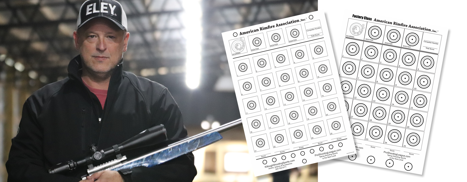 Take aim with .22LR Benchrest Paper Targets